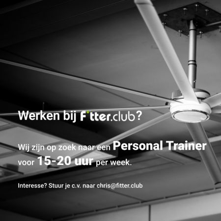 Vacature Fitter Club